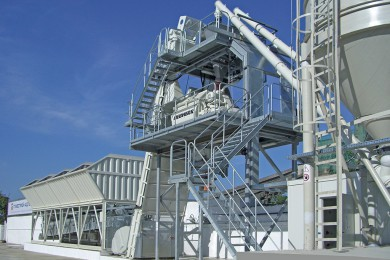 Concrete processing