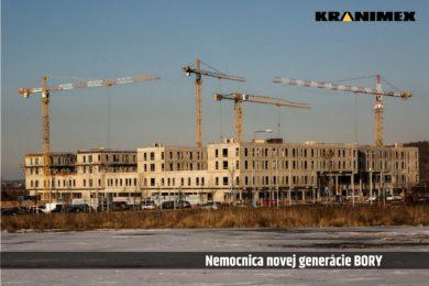 Výstavba nemocnice novej generácie Bory